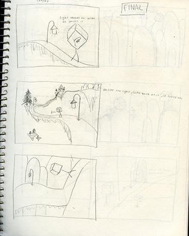 Lumiere Storyboard 1