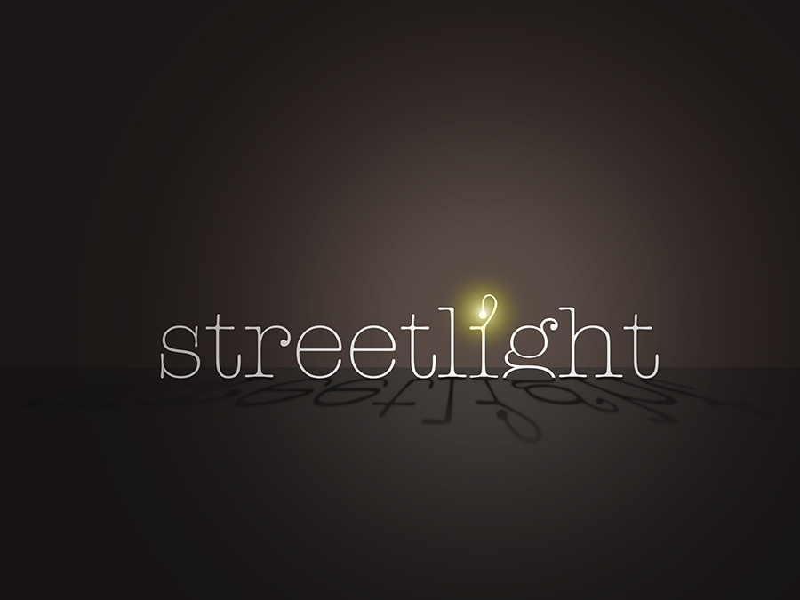 Streetlight Typogram