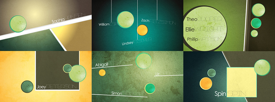 Title Sequence Storyboards, motion design